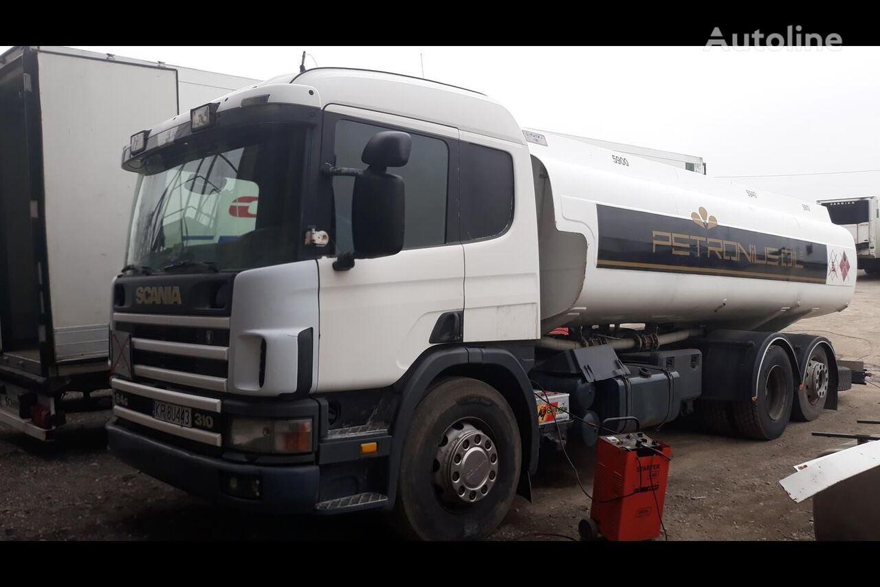 nákladní vozidlo na přepravu pohonných hmot SCANIA P94
