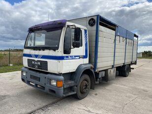 nákladní vozidlo na přepravu zvířat MAN 14.224 4x2 Animal transport