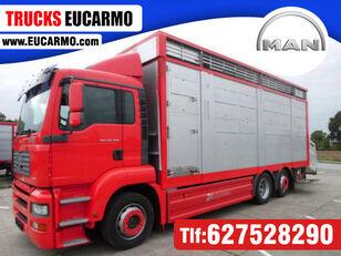 nákladní vozidlo na přepravu zvířat MAN TGA 26 350