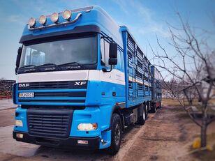 nákladní vozidlo na přepravu zvířat PEZZAIOLI + přívěs na přepravu zvířat
