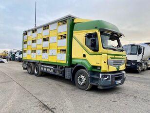 poškozený nákladní vozidlo na přepravu zvířat RENAULT PREMIUM 460