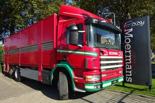 nákladní vozidlo na přepravu zvířat SCANIA P 124G 420 6x2*4