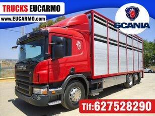 nákladní vozidlo na přepravu zvířat SCANIA P 380