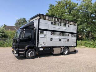 nákladní vozidlo na přepravu zvířat MERCEDES-BENZ Axor Pezzaioli 1/2 stock Veewagen Hefdak