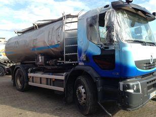 poškozený nákladní vozidlo na převoz mléka RENAULT PREMIUM 430 DXI