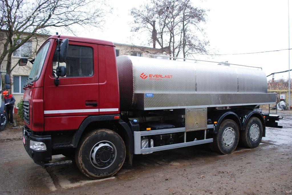 nové nákladní vozidlo na převoz mléka EVERLAST Molokovoz / vodovoz