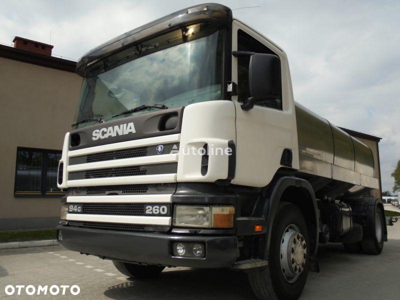 nákladní vozidlo na převoz mléka SCANIA P260