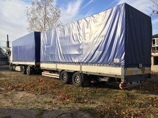 nákladní vozidlo plachta DAF XF95.430 + přívěs plachta