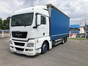 nákladní vozidlo plachta MAN TGX 24.440 flatbed