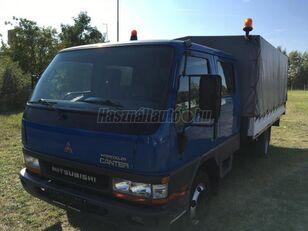 nákladní vozidlo plachta MITSUBISHI CANTER DOKA P+P 4m-es platóval