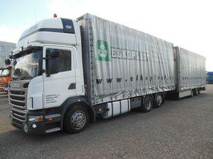 nákladní vozidlo plachta SCANIA G440 + přívěs plachta