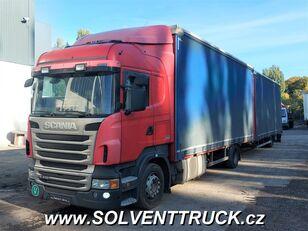 nákladní vozidlo plachta SCANIA R400,Euro 5, Automat + přívěs plachta