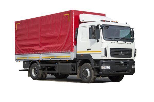nové nákladní vozidlo plachta MAZ 5340C5-8520-000