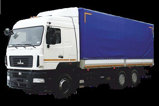 nové nákladní vozidlo plachta MAZ 6312E8
