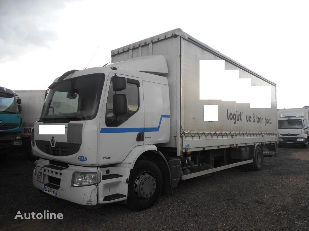 nákladní vozidlo plachta RENAULT PREMIUM 280 DXI