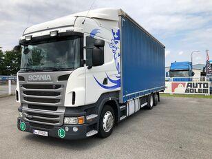 nákladní vozidlo plachta SCANIA R420 LB6x2 flatbed