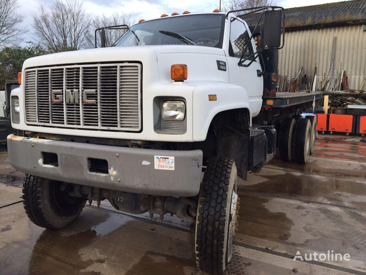 nákladní vozidlo platforma GMC  3116 Engine Flatbed truck