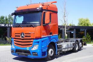 nákladní vozidlo podvozek MERCEDES-BENZ Actros 2542 , E6 , 6X2 , BDF , chassis 7,2m , retarder , 2 beds