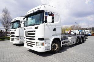 nákladní vozidlo podvozek SCANIA R490 , E6 , 8X2/4 , Tridem , chassis 9m , 2x lift axle , retarde