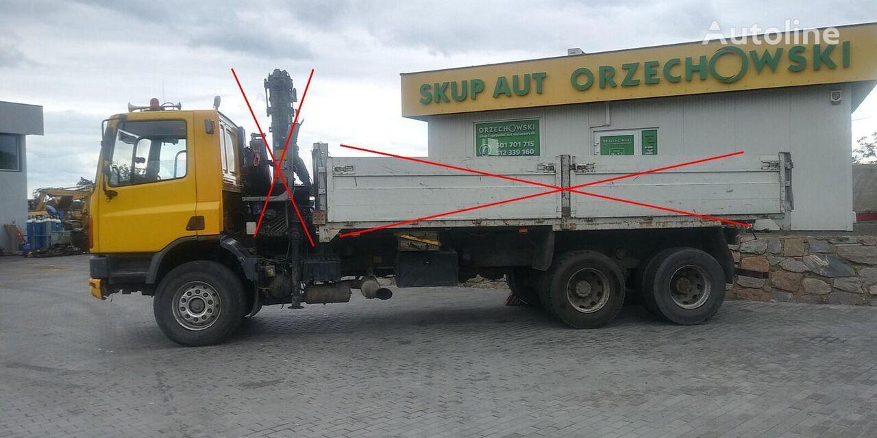 nákladní vozidlo podvozek DAF CF 75 270