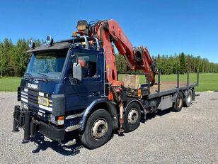 nákladní vozidlo valník SCANIA P 113 H