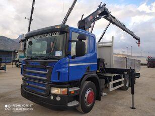 nákladní vozidlo valník SCANIA P 310 6X2 GRUA HIAB CAJA FIJA