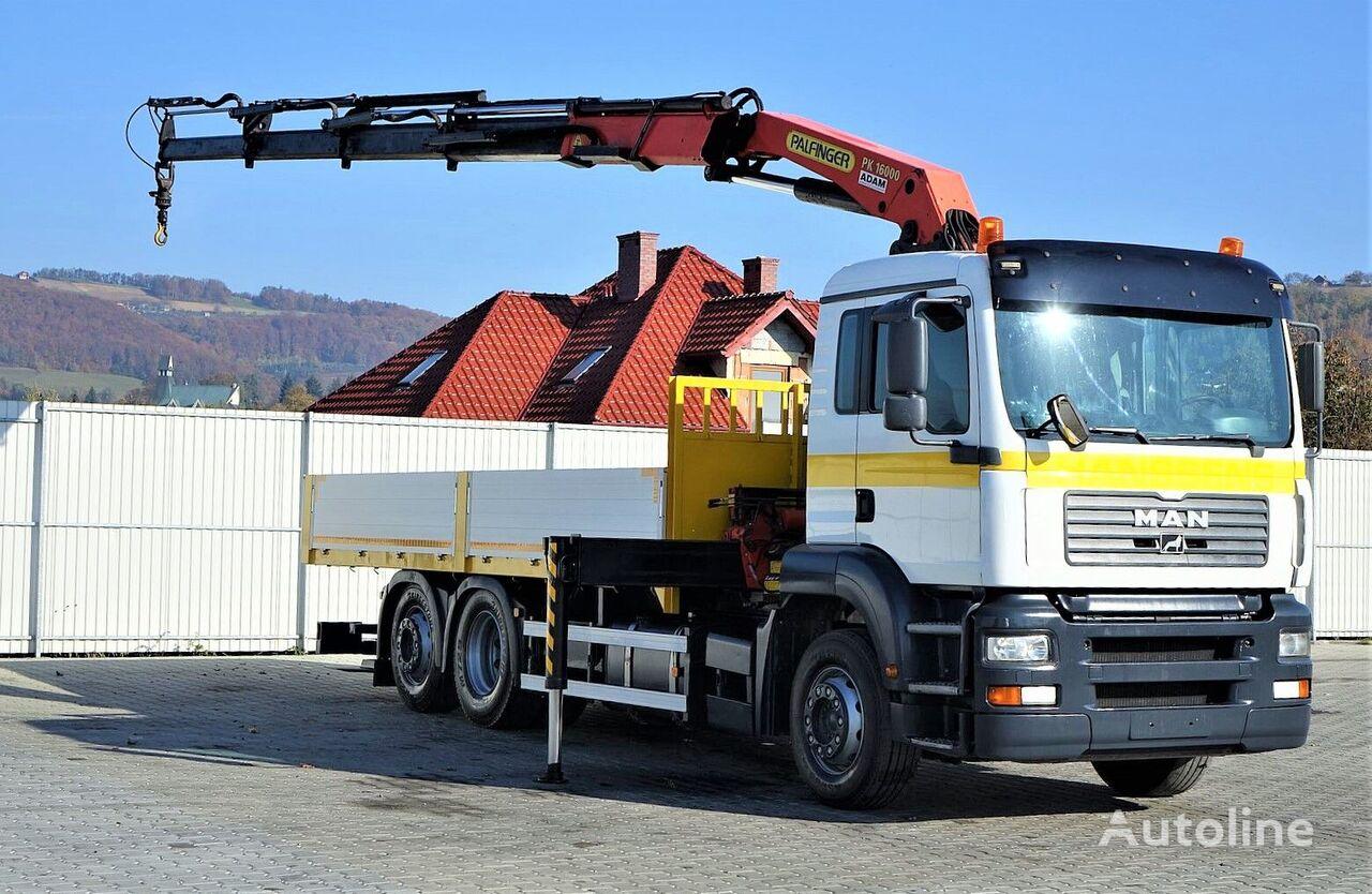 nákladní vozidlo valník MAN TGA 26.310 Pritsche