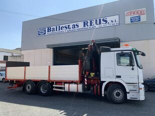 nákladní vozidlo valník MERCEDES-BENZ ACTROS 2536 FASSI 235