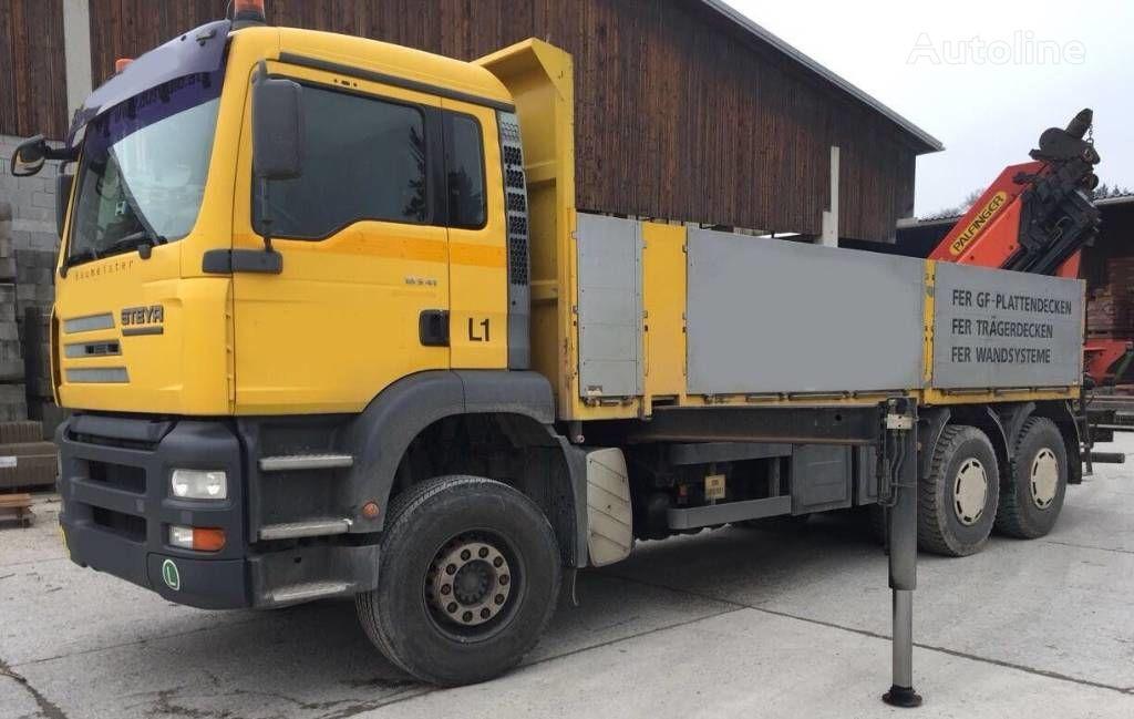 nákladní vozidlo valník STEYR 33S41 Man Palfinger PK 44002
