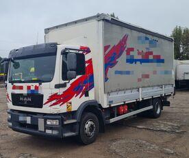 plachtové vozidlo MAN TGM 15.250 from FR, 214000 km