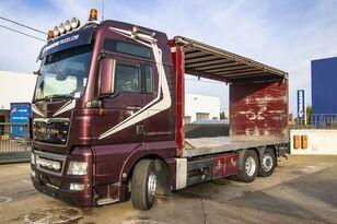 plachtové vozidlo MAN TGX 26.480 XXL 6X2-4 ( gestuurd/Dir./steering/gelenkt)