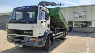 sklápěč DAF 55.180 Ti  6 Cylinders Euro 2 / HIAB 650 Rotator x 4