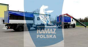 nové vojenské vozidlo KAMAZ 6x6 SERWISOWO-WARSZTATOWY