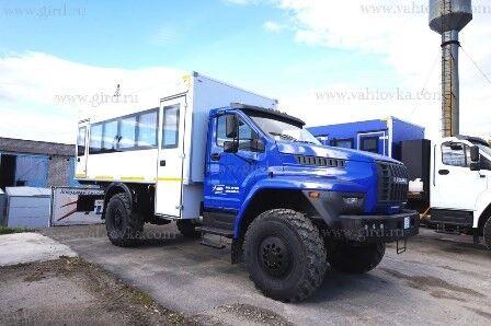 nové vojenské vozidlo URAL URAL 4320 NEXT 4x4