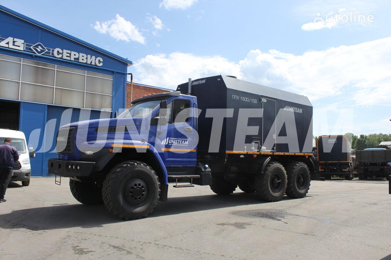 nové vojenské vozidlo UNISTEAM PPUA 1600/100 serii UNISTEAM-M1 URAL NEXT 4320