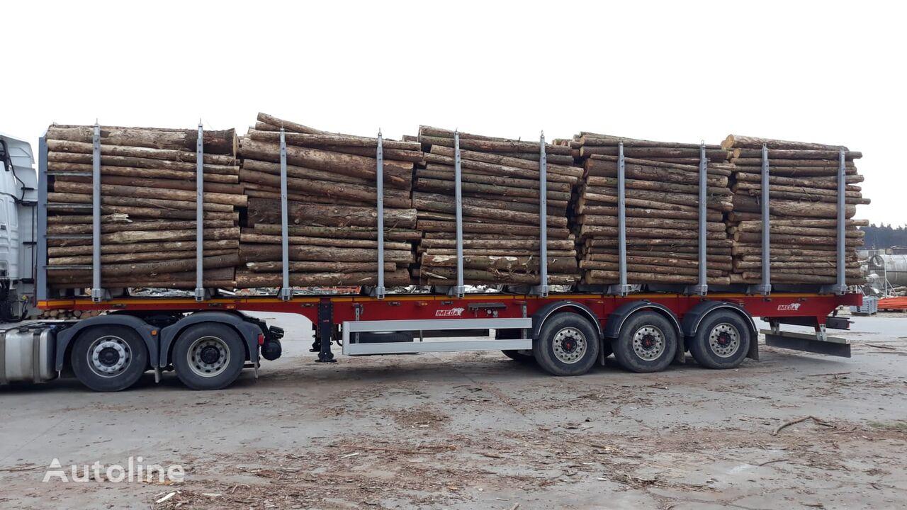 návěs na přepravu dřeva MEGA MND