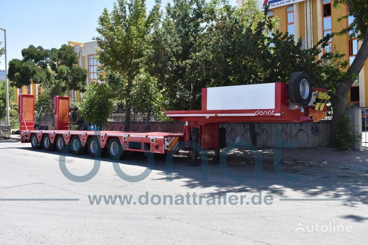 nový návěs podvalník DONAT 6 axle Extendable Lowbed with Hydraulic Gooseneck