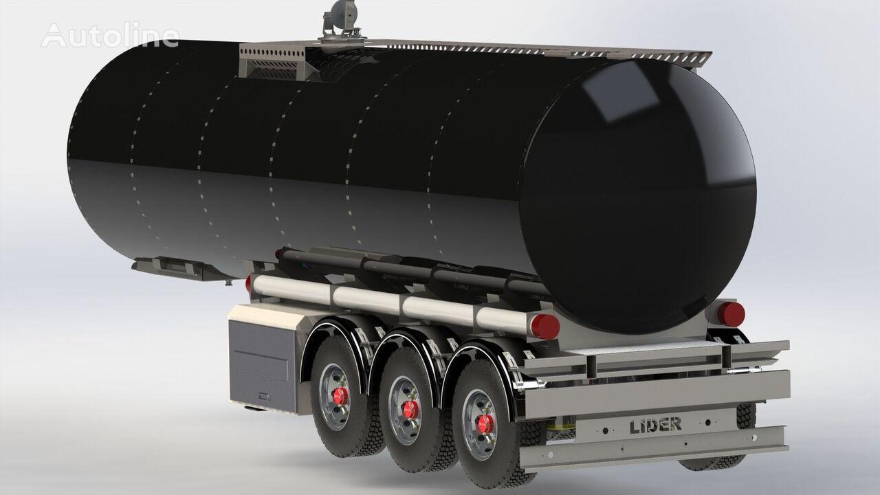 nový palivová cisterna LIDER 2019 year NEW directly from manufacturer compale stockny ready a