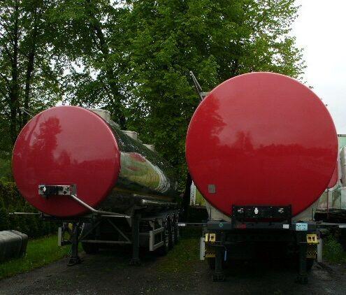 potravinářská cisterna PRO-WAM wielton , 26000 l.