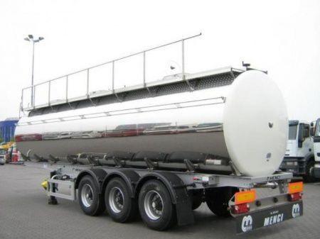 nový potravinářská cisterna SANTI SANTI-MENCI pishchevaya cisterna 32/3 + promyvka