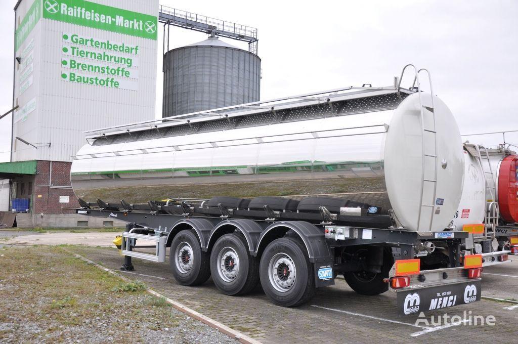nový potravinářská cisterna SANTI pishchevaya Menci 32 000 / 3 kamery , VES 5900 kg