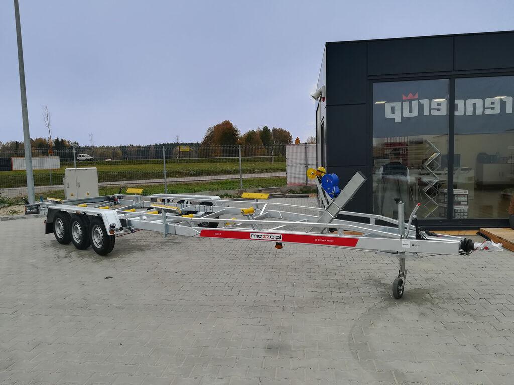 nový lodní přívěs B35 Three axles boat trailer max 9.5m 3500kg