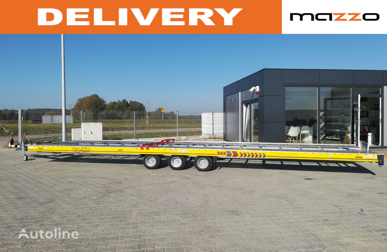 nový přívěs autotransportér 35.85 850x210cm 3500kg Two car trailer