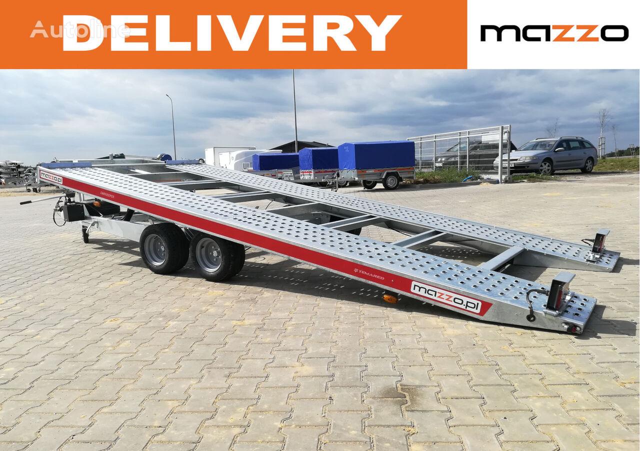 nový přívěs autotransportér Carkeeper 480x200 Tilt trailer