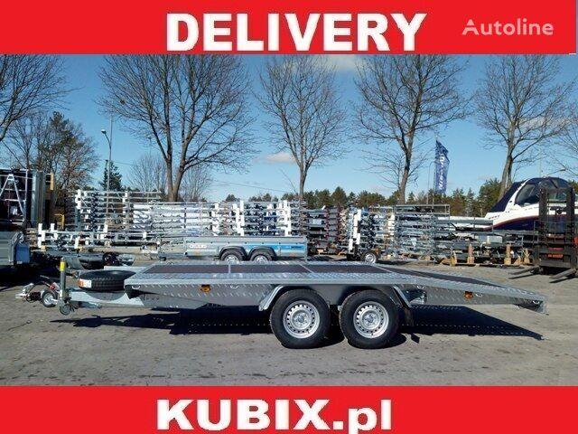 nový přívěs autotransportér KUBIX Przyczepa Mustang-Strong NT22 Jupiter Sklejka 4,5x2, o DMC 3000k
