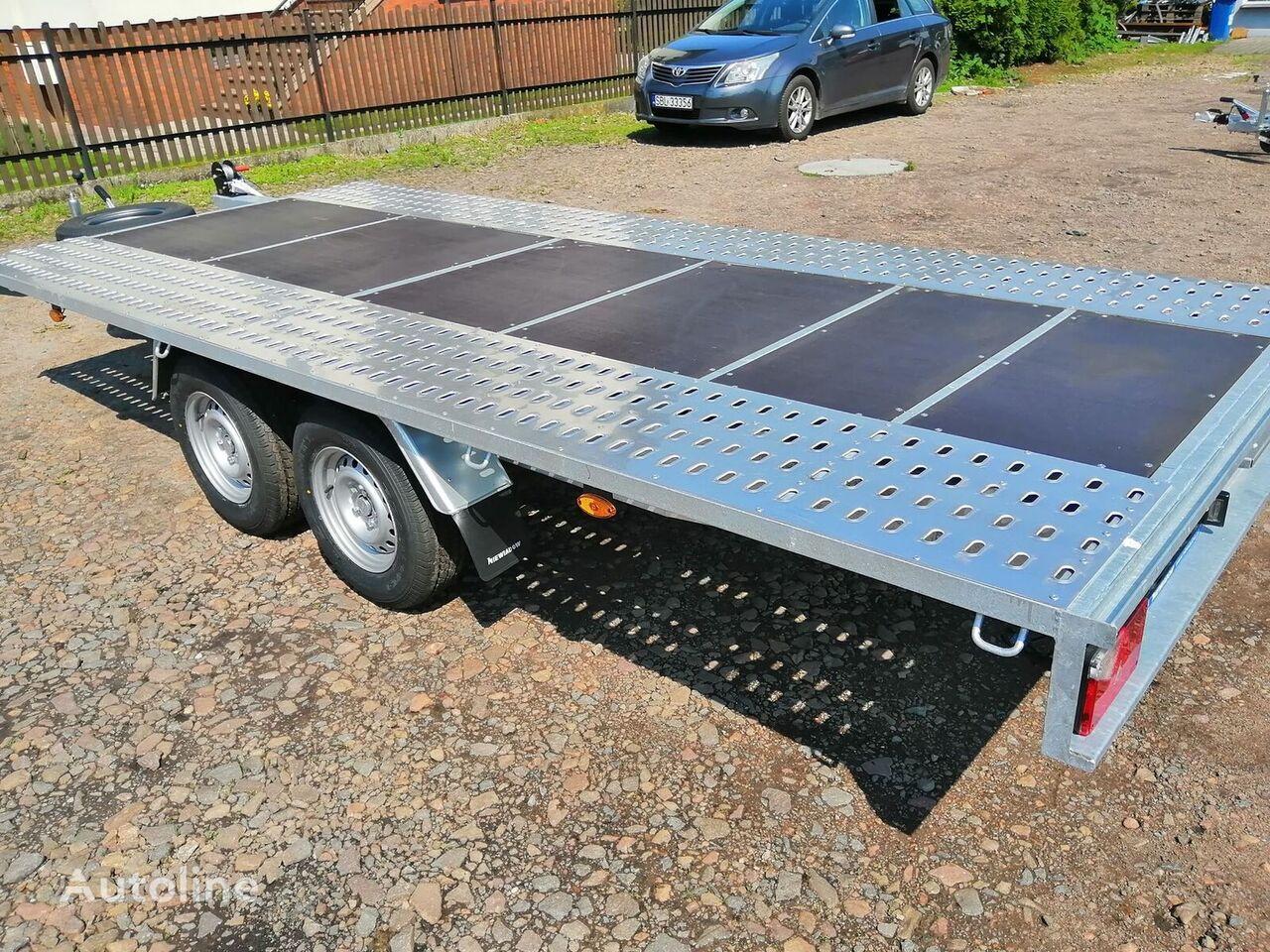 nový přívěs autotransportér NIEWIADOW Mars + plywood Poland Boro