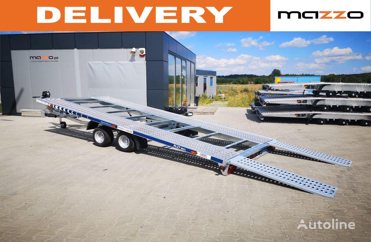 nový přívěs autotransportér PL27-5021  500x210cm 2700kg! Tilted