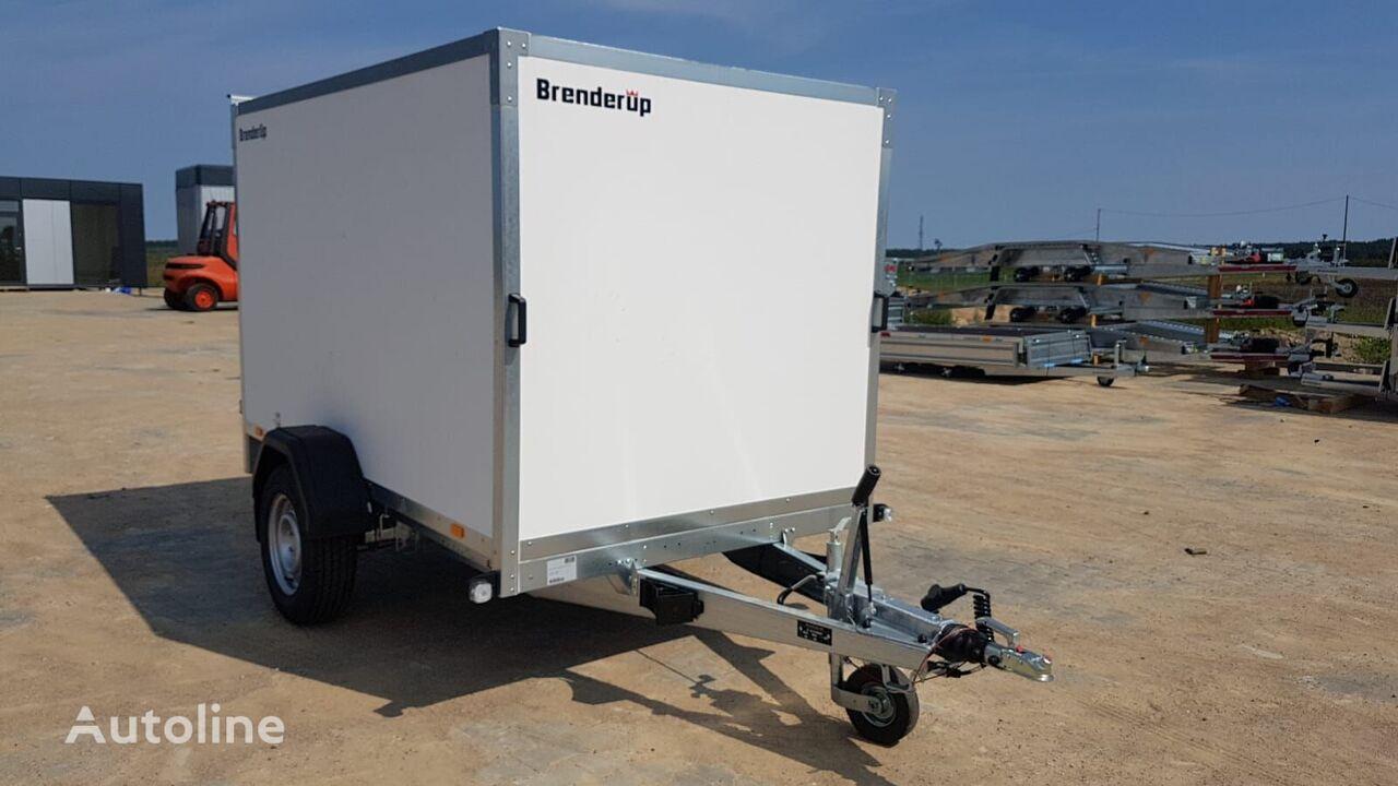 nový přívěs furgon Brenderup Cargo 7260 B + double rear door