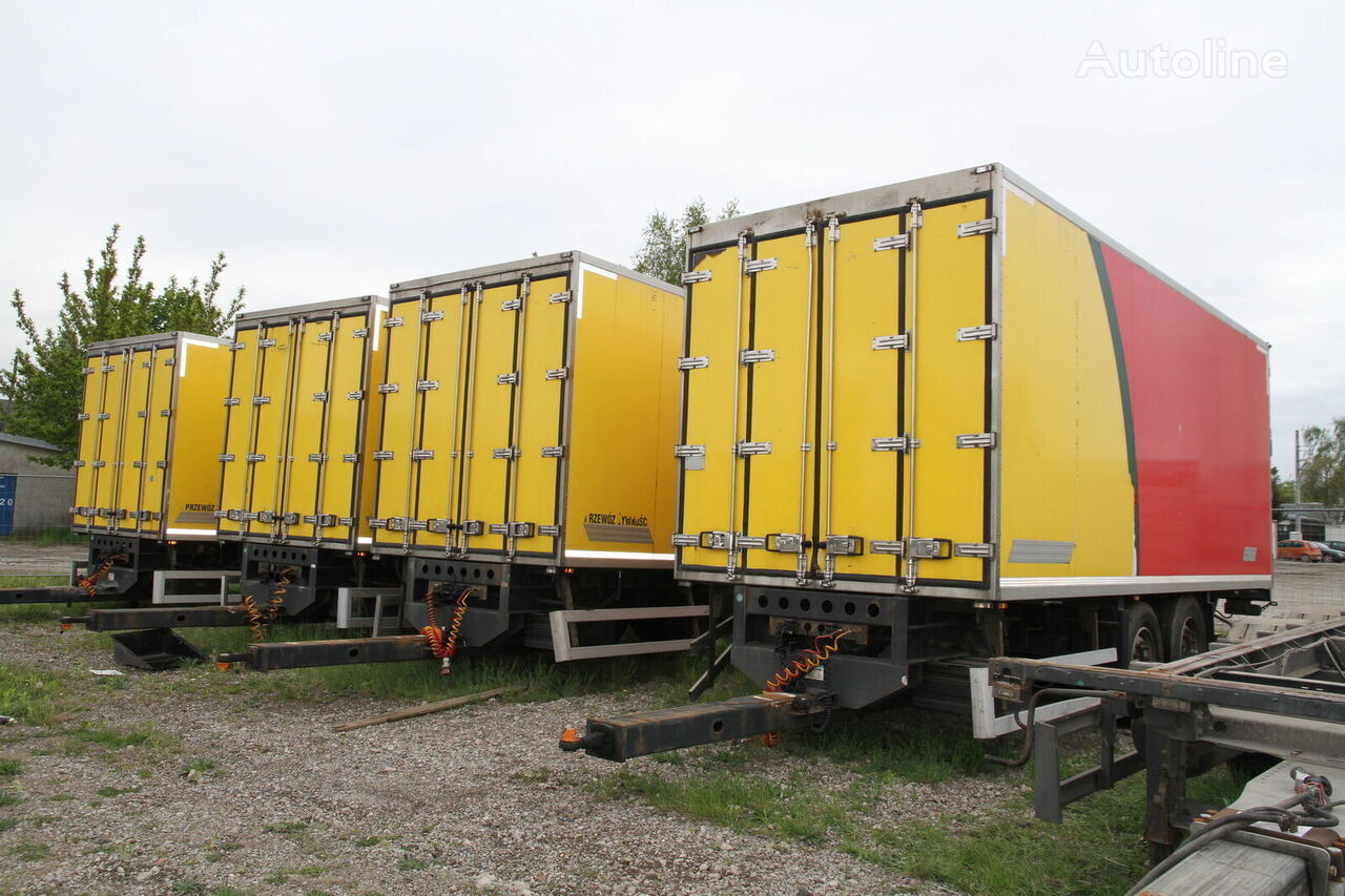přívěs izotermický WIELTON TRAILER PC-2 ISOTHERMAL CONTAINER BOX