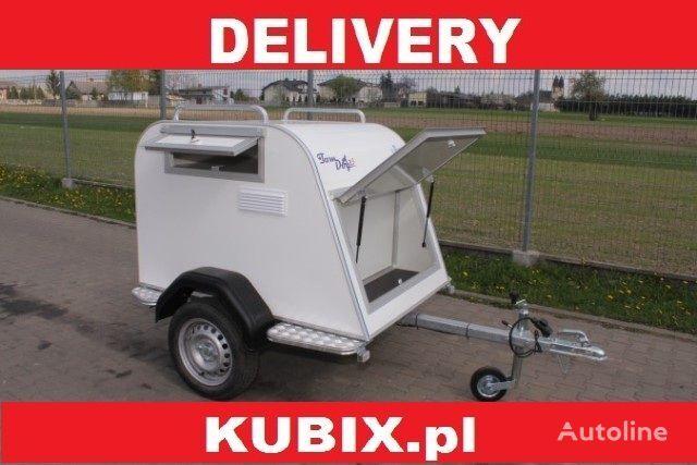 nový přívěs na přepravu zvířat KUBIX Tomplan Tom Dog 2s